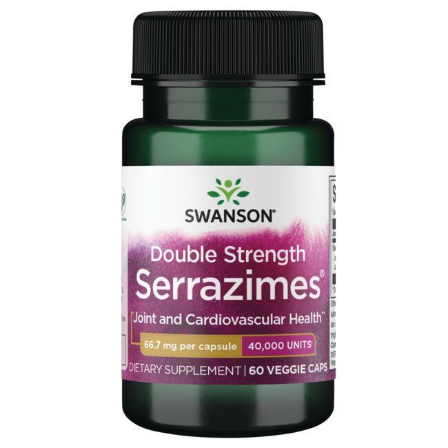 Swanson UltraOptimum Potency Serrazimes 40,000 Units