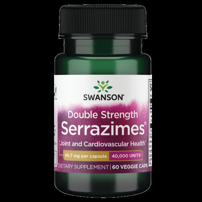 Swanson Ultra Optimum Potency Serrazimes 40,000 Units