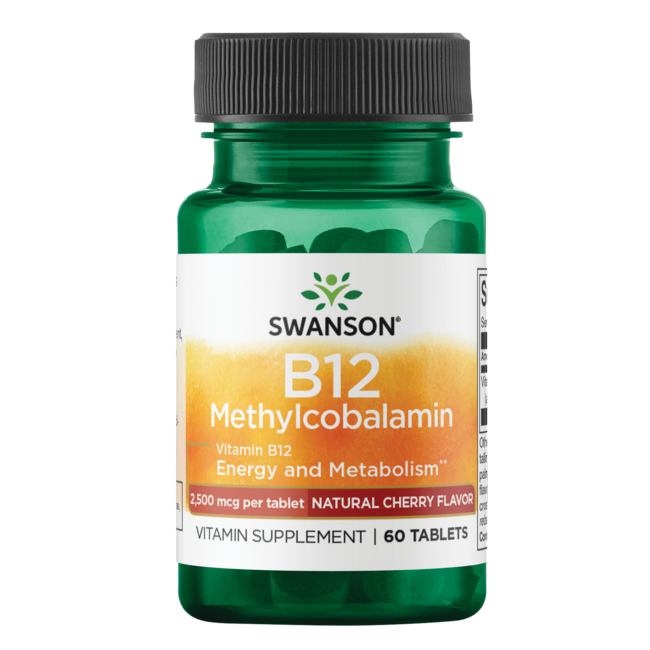 Swanson UltraMethylcobalamin High Absorption B-12