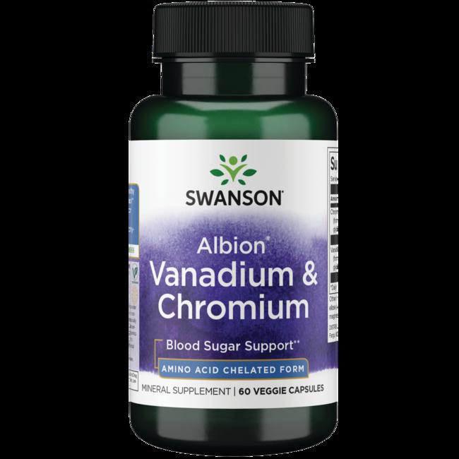 Swanson UltraAlbion Chelated Vanadium and Chromium