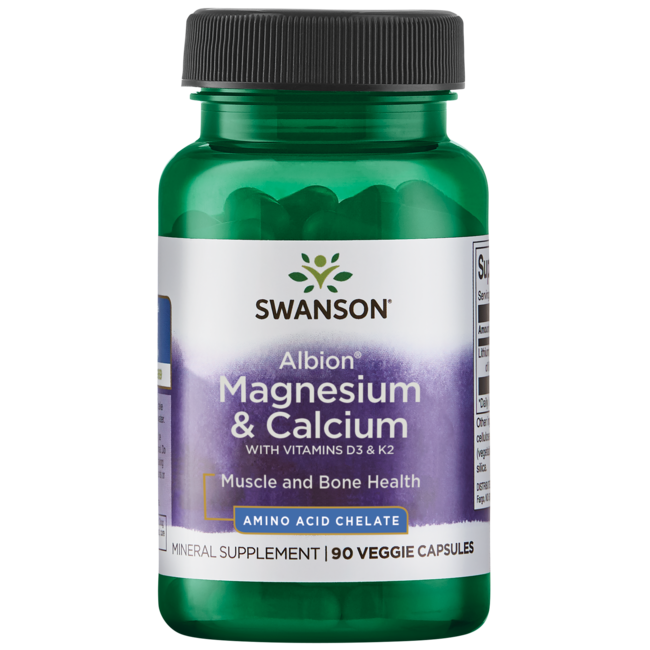 Swanson UltraAlbion Chelated Magnesium & Calcium 2:1
