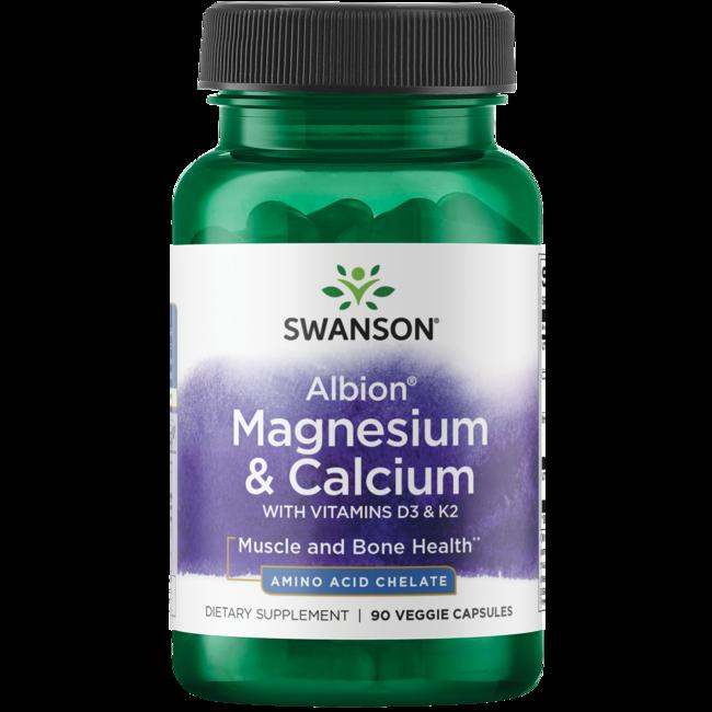 Swanson Ultra Albion Chelated Magnesium & Calcium 2:1