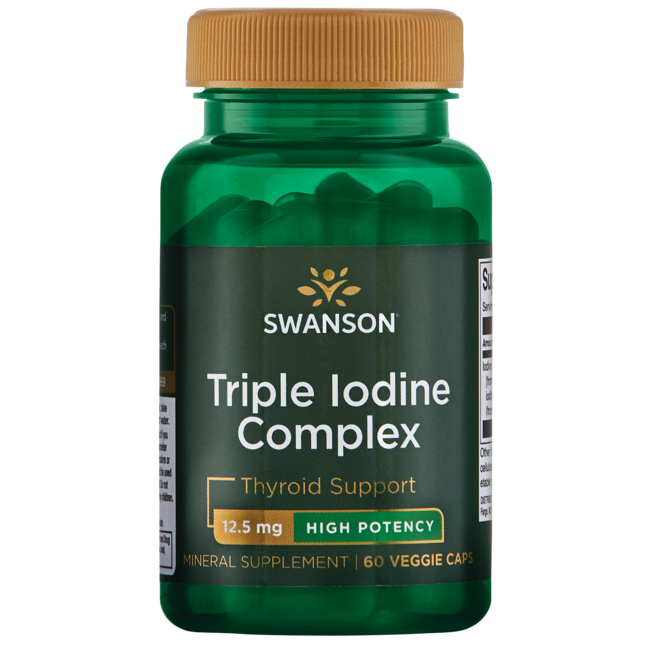 Molecular iodine supplement