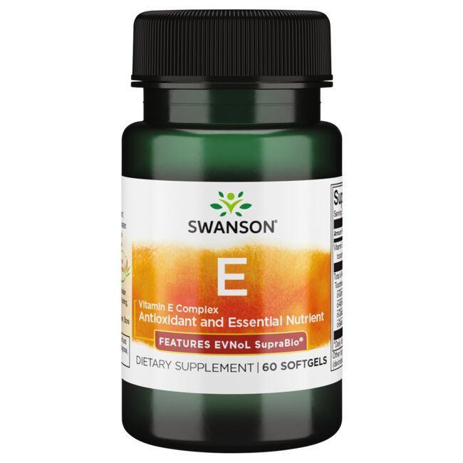 Swanson UltraVitamin E Complex - Features ENVoL SupraBio