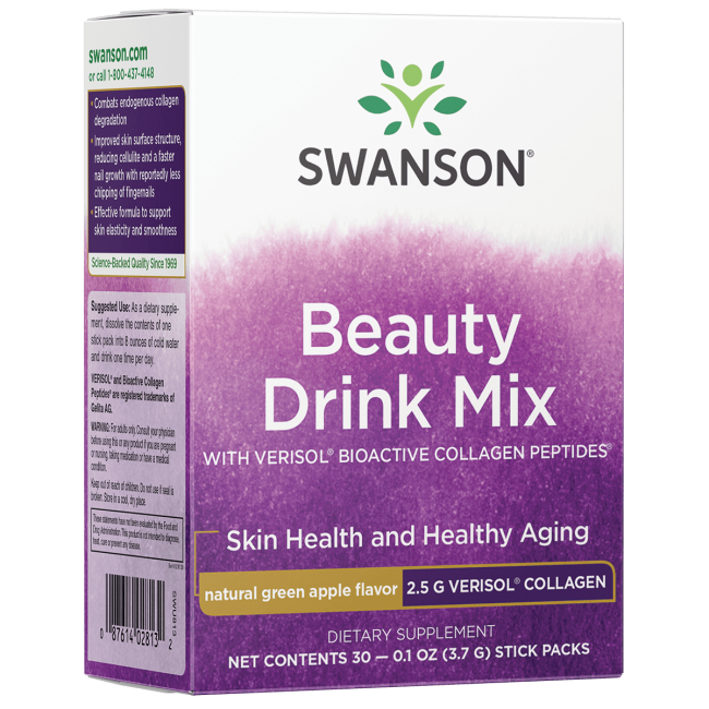Swanson Ultra Beauty Drink Mix with Verisol