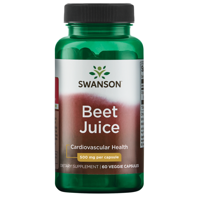 Swanson Ultra Made with Organic Beet Juice Freeze Dried