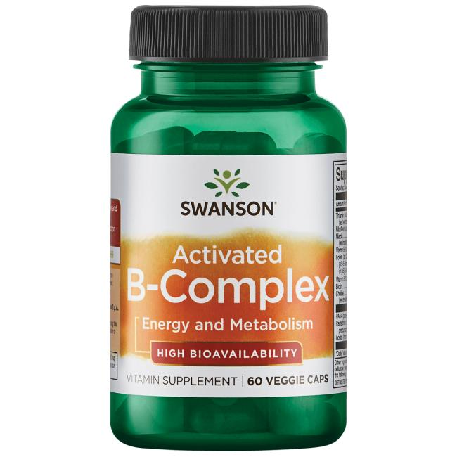 Swanson Ultra Activated B-Complex High Bioavailability
