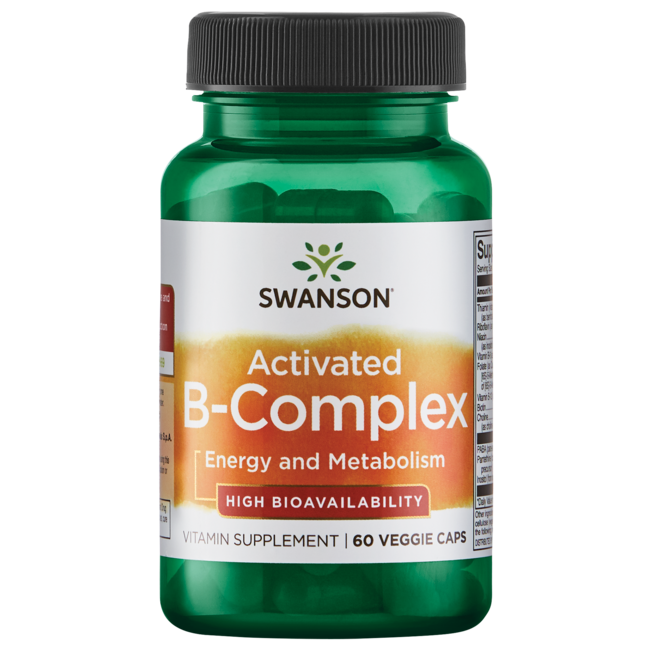 Swanson UltraActivated B-Complex High Bioavailability
