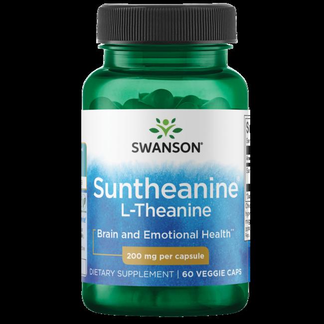Swanson Ultra Double Potency Suntheanine L-Theanine