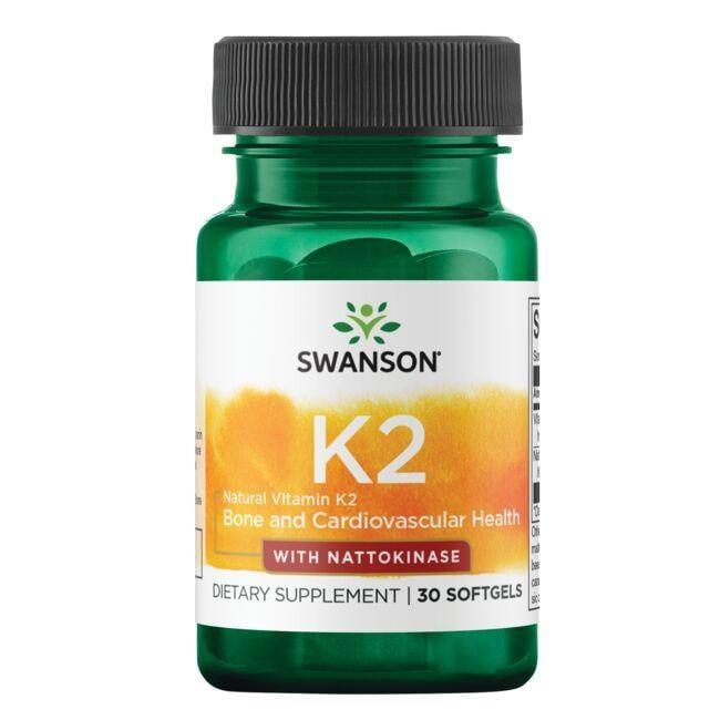 Swanson UltraVitamin K2 -Natural with Nattokinase