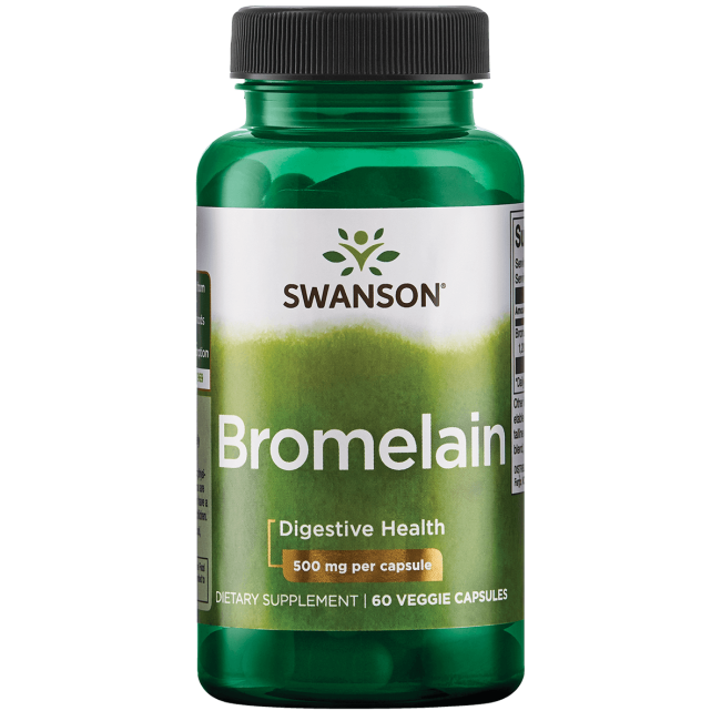 Swanson UltraMaximum Strength Bromelain 1,200 GDU
