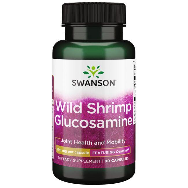 Swanson UltraWild Shrimp Glucosamine - Featuring Osamine