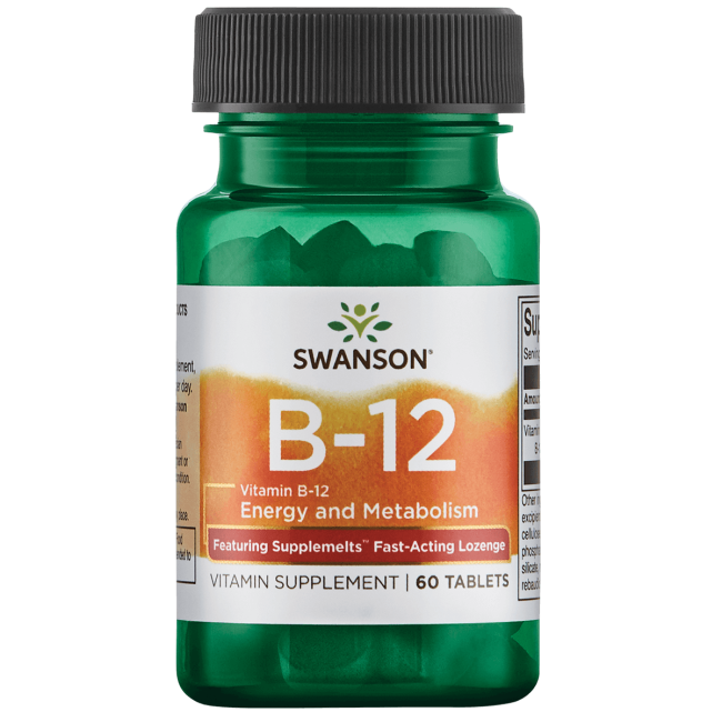 Swanson UltraSupplemelts Sublingual Vitamin B-12