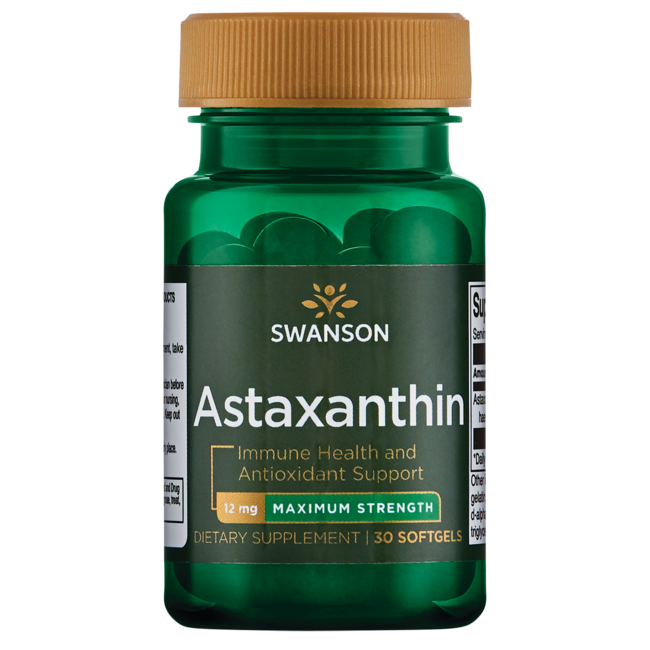 Swanson Ultra Maximum Strength Astaxanthin