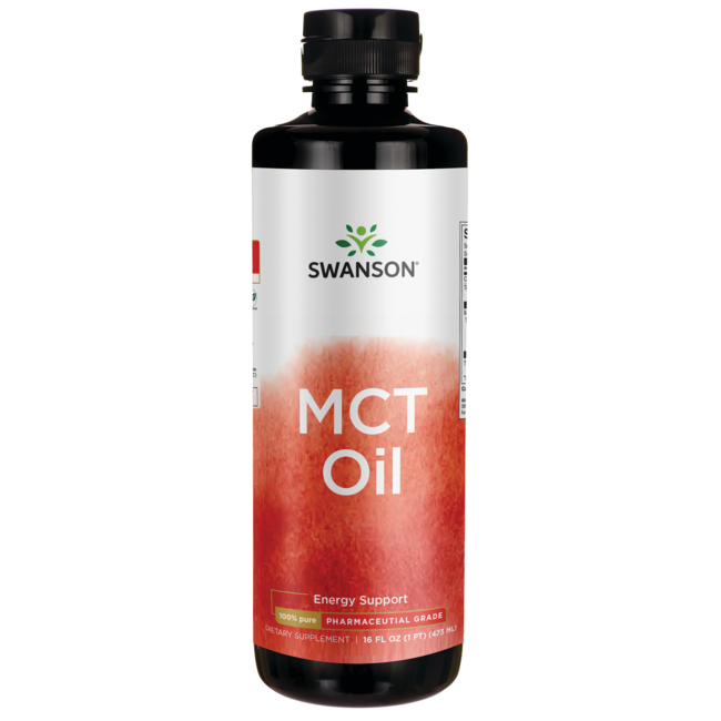 Swanson Ultra 100% Pure MCT Oil Pharmaceutical Grade