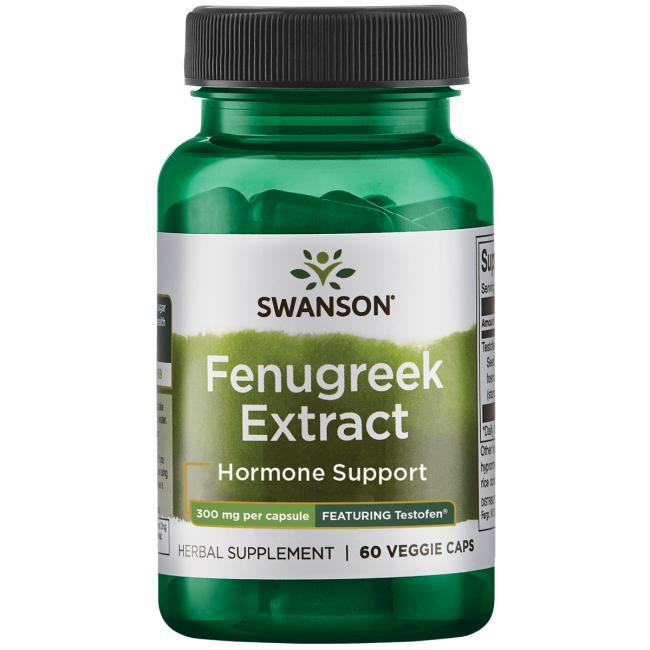 Swanson Ultra Fenugreek Extract - Featuring Testofen