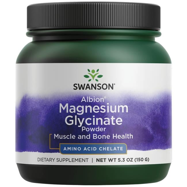 Swanson UltraMagnesium Glycinate Powder