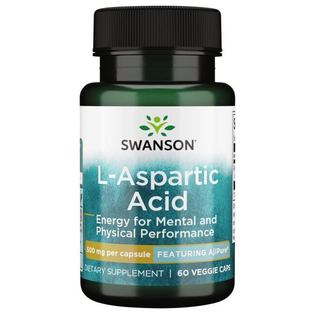 Swanson UltraL-Aspartic Acid - Featuring AjiPure