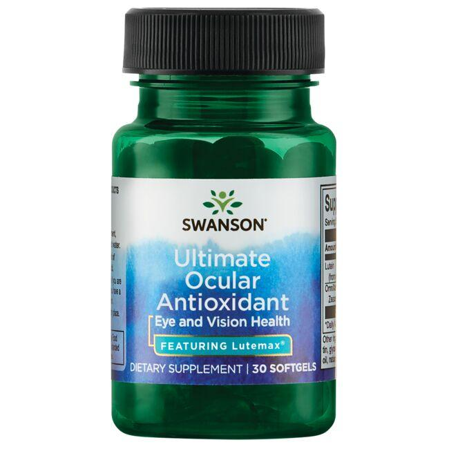 Swanson Ultra Ultimate Ocular Antioxidant - Featuring Lutemax