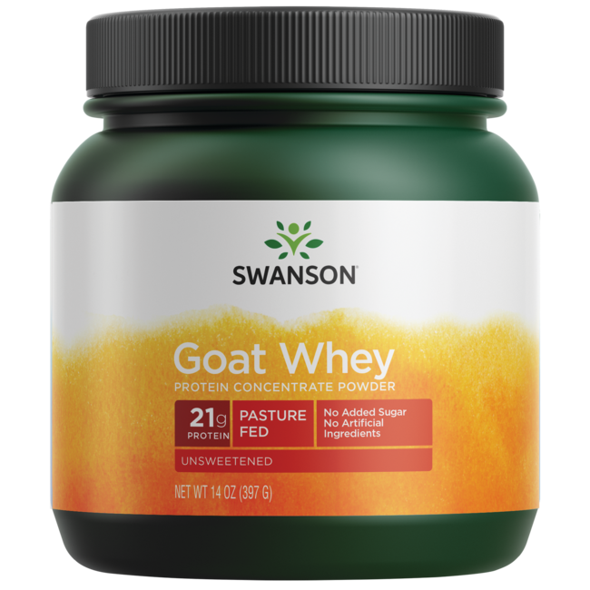 Swanson UltraGoat Whey Protein Concentrate