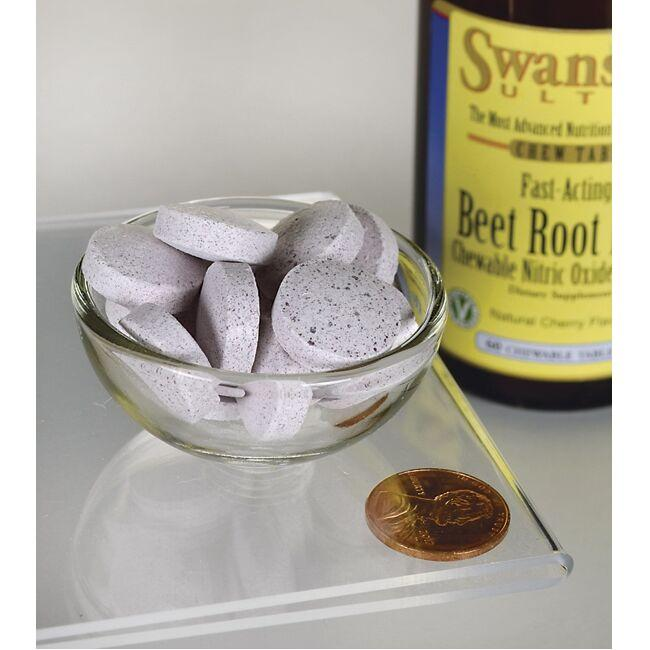 Swanson Ultra Beet Root NO+ Fast-Acting Close Up