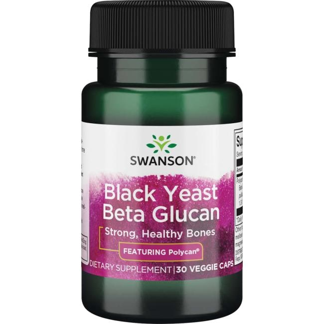 Swanson Ultra Polycan Black Yeast Beta Glucan