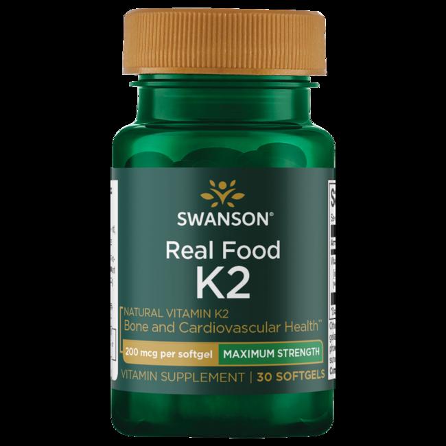 Swanson UltraMaximum Strength Natural Vitamin K2