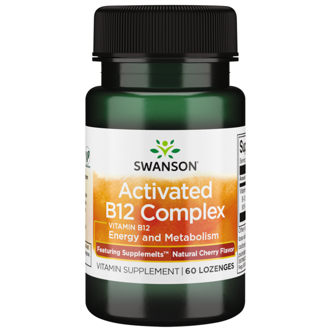 Swanson UltraSupplemelts Sublingual Activated B-12