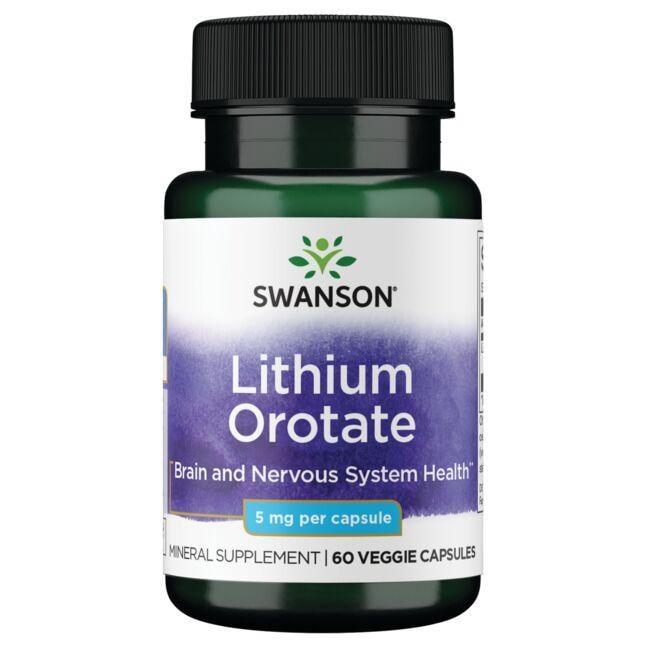 Swanson UltraLithium Orotate