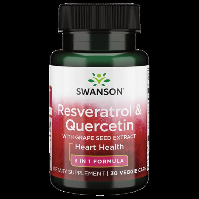 Swanson UltraResveratrol & Quercetin