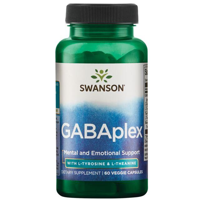 Swanson Ultra GABAplex with L-Tyrosine & L-Theanine