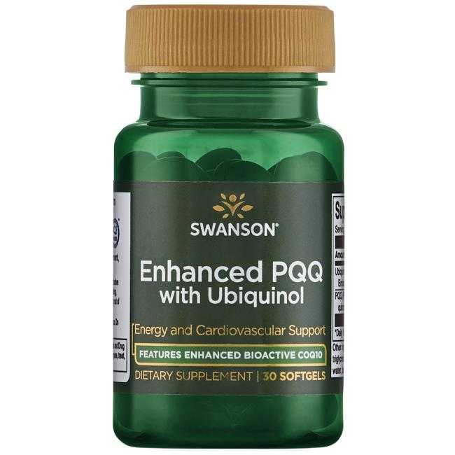 Swanson Ultra Enhanced PQQ with Ubiquinol