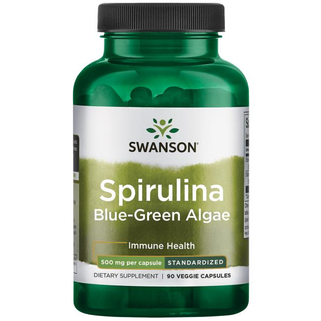 Swanson Ultra Spirulina Blue-Green Algae - Standardized