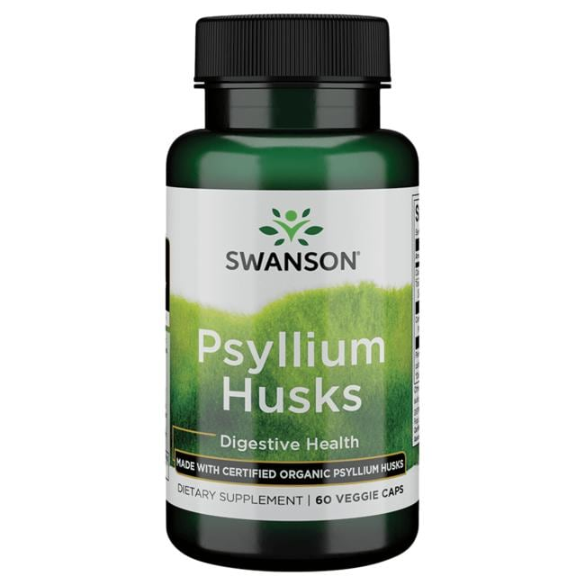 Swanson Ultra Made with Certified Organic Psyllium Husk