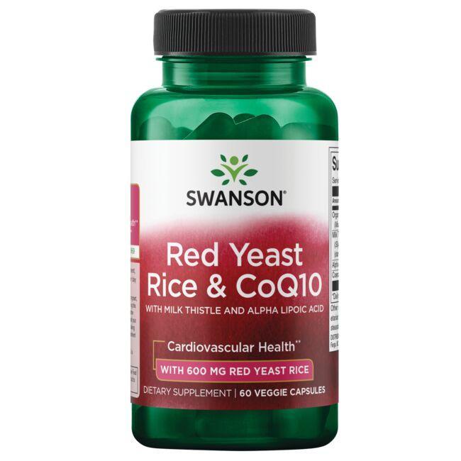 Swanson UltraRed Yeast Rice & CoQ10 - Traditional Formula