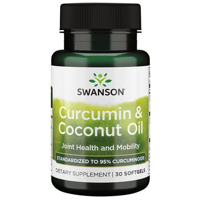 Swanson Ultra Curcumin & Coconut Oil