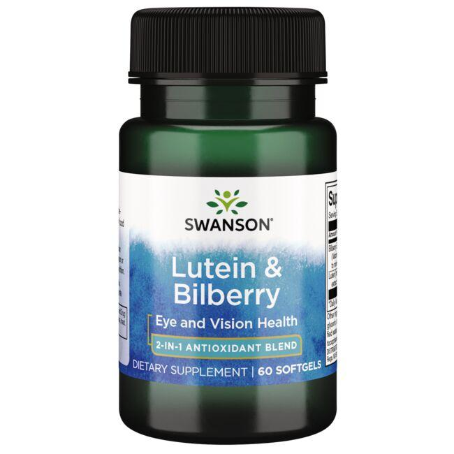 Swanson Ultra Standardized Lutein & Bilberry