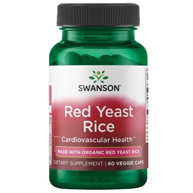 Swanson Ultra Red Yeast Rice made with Organic Red Yeast Rice