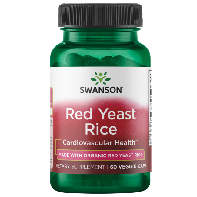 Swanson UltraMade with Organic Traditional Red Yeast