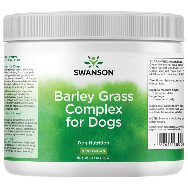 Swanson Pet Nutrition Barley Grass Complex for Dogs