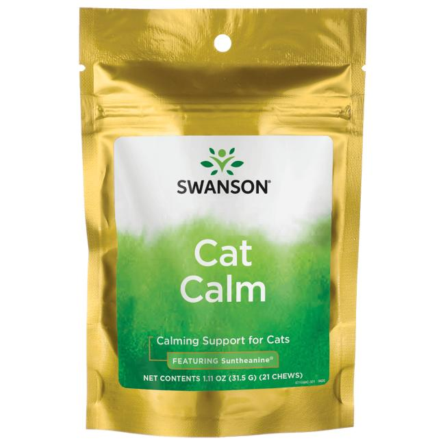 Swanson Pet Nutrition Cat Calm - Featuring Suntheanine