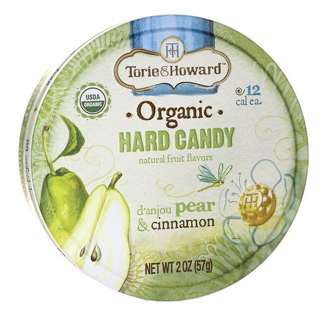 Torie & Howard Organic Hard Candy - D'anjou Pear & Cinnamon