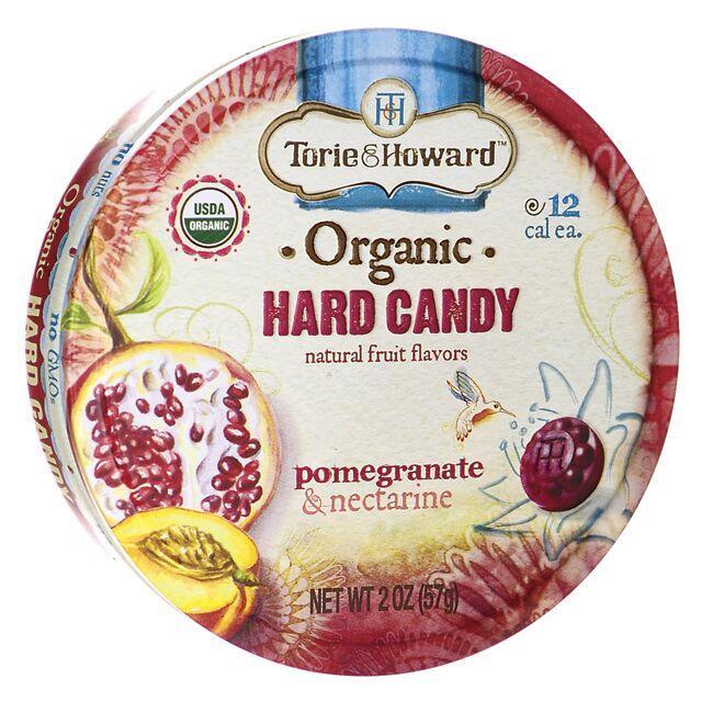 Torie & HowardOrganic Hard Candy - Pomegranate & Nectarine