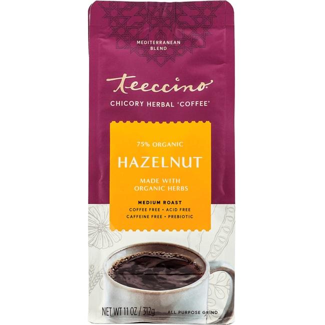Teeccino Mediterranean Herbal Coffee - Hazlenut