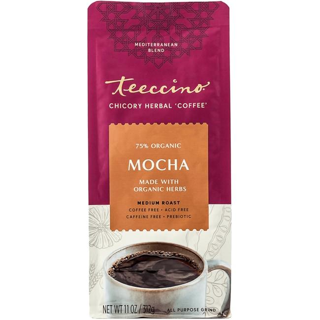 Teeccino Mediterranean Herbal Coffee - Mocha