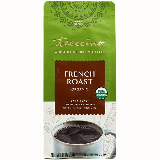 Teeccino Maya Herbal Coffee Organic - French Roast