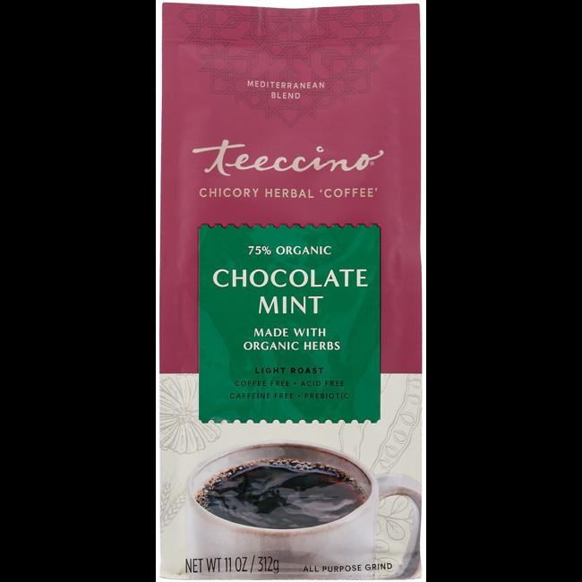 Teeccino Mediterranean Herbal Coffee - Chocolate Mint
