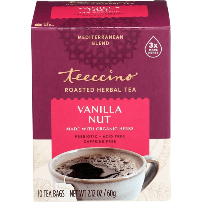 Teeccino Mediterranean Herbal Coffee - Vanilla Nut