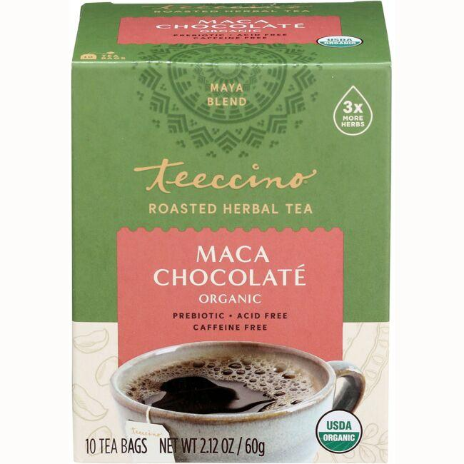 Teeccino Roasted Herbal Tea - Maca Chocolate