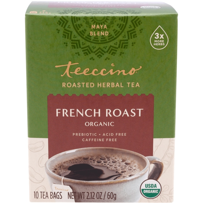 TeeccinoMaya Herbal Coffee - French Roast